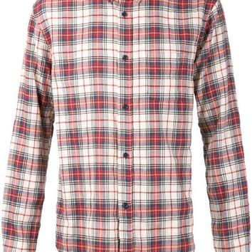 DCCKIN3 Band Of Outsiders plaid print shirt