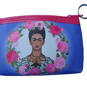 Frida Inspired Womens Purse Wallet Matching Coin Purse