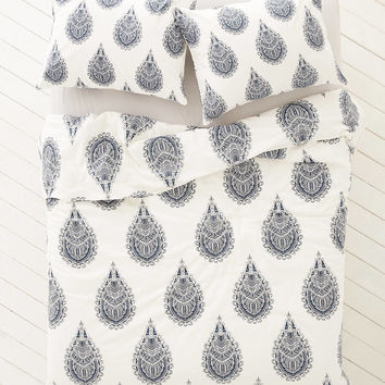 Plum & Bow Cato Henna Duvet Cover | Urban Outfitters