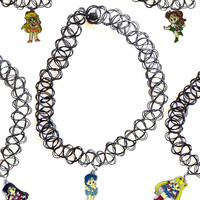 SAILOR MOON PENDANT TATTOO CHOKER – tibbs & BONES