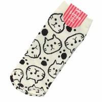 CAT Socks -- White