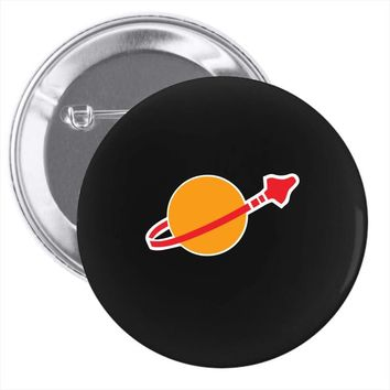 Lego Space Pin-back button