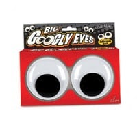Accoutrements Googly Eyes Unique Gift Novelty Joke Funny