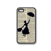 CellPowerCasesTM Vintage Mary Poppins iPhone 4 Case - Fits iPhone 4 & iPhone 4S