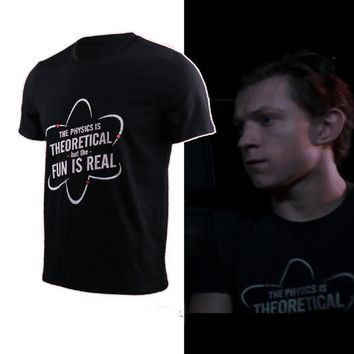Spiderman Homecoming Physics Is Theoretical T-Shirt