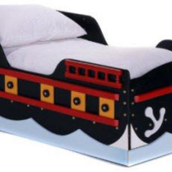 Toddler Size Pirate Bed