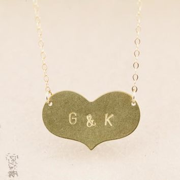 Reese •Heart Necklace