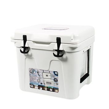 State Traditions America Cooler 32qt in White by Lit Coolers