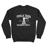 Tesla Tech Crewneck Sweatshirt