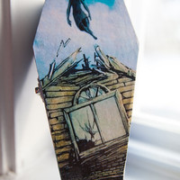 Pierce the Veil - Collide With the Sky Album Art Coffin Jewelry Box