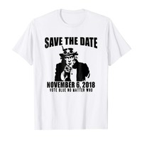 Save the Date T-shirt 2018 Midterms Uncle Sam