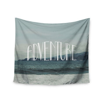 "Chelsea Victoria ""Adventure"" Blue Photography Wall Tapestry"