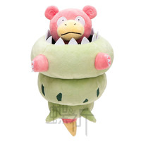 20cm Pokemon Go Crystal Version Slowking Plush Doll Toy For Gift Mythical Pokemon go High Quality Free Shipping