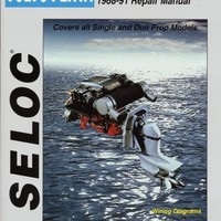 Volvo Penta Stern Drives 1968-1991 Repair Manual Powered by Ford, GM or Volvo 4 Cylinder, V6, V8 with 1 Year Online Subscription - Seloc