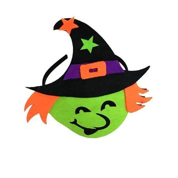 1PC Halloween Funny Pumpkin Witch Ghost Headband Headdress Halloween Costume Headdress for Mardi Gras Halloween Party Supplies