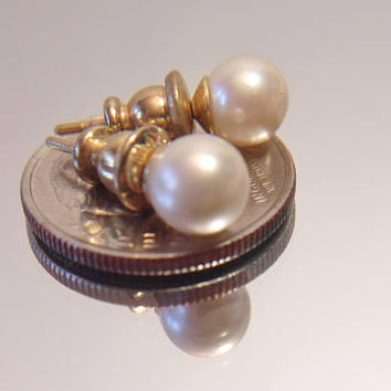 Marvella Pearl Stud Earrings Classic Costume Jewelry Wedding Bridal Fashion Accessories For Her