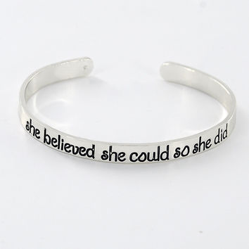 New Fashion silver plated Engraved Cuff Bangle Personalized Words Quote Name bangles bracelets  SL-381