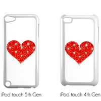 Heart iPhone Case - FREE Shipping to USA ipod cases cute plastic iphones original art gifts for her ipod 5 case dye sub minimalist art
