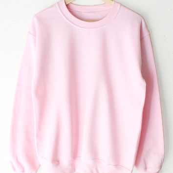 Oversized Sweater - Pink
