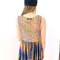 Brisbane Knit Vest- Multi