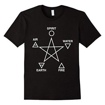 Five Elements Pentagram T-Shirt Occult Summer 2017 Famous Brand  Cotton Tees Free Shipping