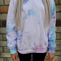 Cryptic Cult — Tie dyed sweatshirt