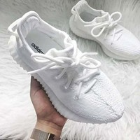 Adidas Yeezy 550 Boost 350 V2 Fashion Classic Women Men Casual Sport Running Shoe Sneakers Pull White I