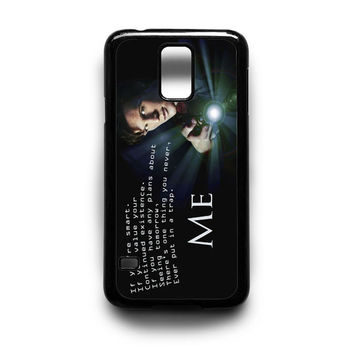 Tardis Doctor Who Quote Samsung S5 S4 S3 Case By xavanza