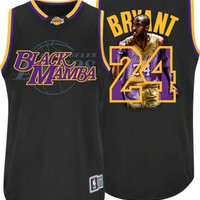 NBA Los Angeles Lakers Kobe Bryant #24 Notorious Jersey