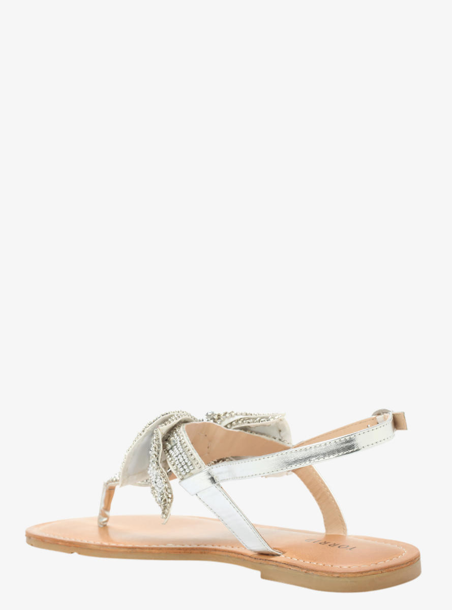 fdf441d97a3 Embellished Bow Flat Sandals (Wide Width) from Torrid