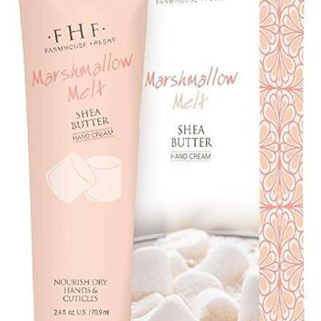 Farmhouse Fresh Marshmallow Melt Shea Butter Hand Cream, 2.4 Ounce