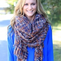 On The Road Blanket Scarf