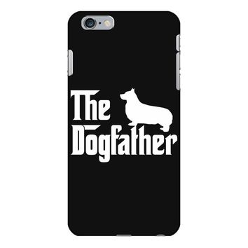 the dogfather pembroke welsh corgi white iPhone 6/6s Plus Case