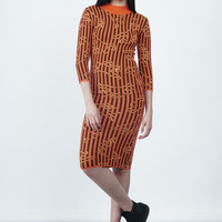 Wool Mock Neck Dress | NYLON SHOP