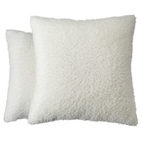 "Room Essentials® 2-Pack Textured Toss Pillow (16.5x16.5"")"
