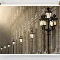 Last Light Paris  French Fine Art Photograph Art by littlebrownpen