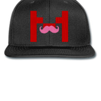 markiplier m embroidery hat - Snapback Hat