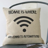Wi Fi Cushion Cover