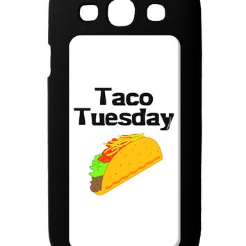 Taco Tuesday Design Galaxy S3 Case  by TooLoud
