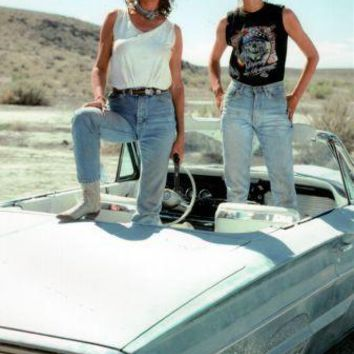 Thelma And Louise Movie Poster Standup 4inx6in