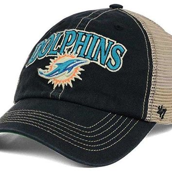 bbcced73166 Miami Dolphins Tuscaloosa Clean Up Cap by 47 Brand