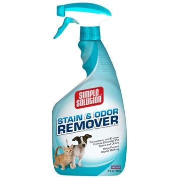 "Simple Solution Stain and Odor Remover 32oz 2.9"" x 4.8"" x 10.75"""