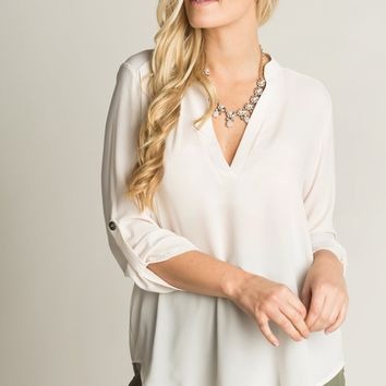 Valerie Cream Blouse