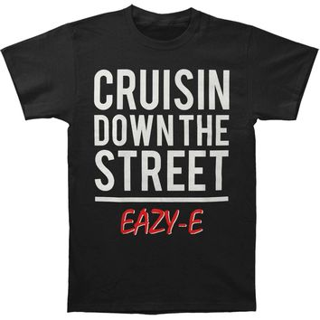 Eazy E Men's  Cruisin Down The Street Tee T-shirt Black