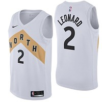 Men's Toronto Raptors Kawhi Leonard Nike White 2018/19 Swingman Jersey - City Edition - Best Deal Online
