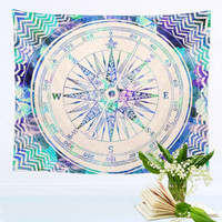 Compass Tapestry Colored Cool Indian Mandala Decorative Wall Tapestries 130cmx150cm 153cmx203cm tapisserie