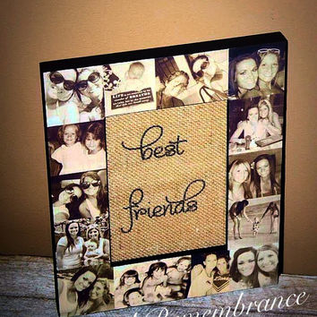 picture frame photo frame unique best friend gift parent gift maid of