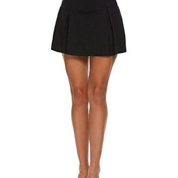 Womens Sports Skorts Gym Tennis Skirt