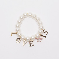 Love is Pearl Bracelet | perfectsunday.co