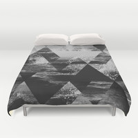 Abstract Sea Duvet Cover by Cafelab
